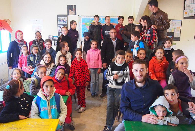 Diaporama du séjour solidaire 2016 dans le Rif